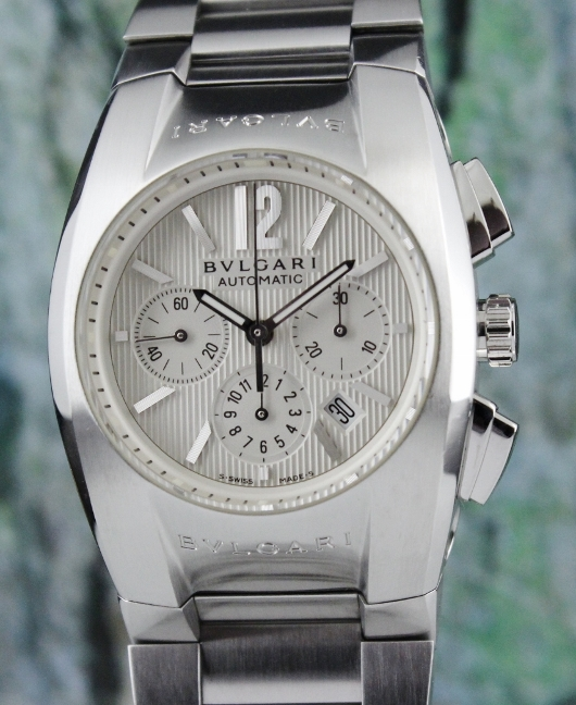 Bvlgari Ergon Stainless Steel Automatic Chronograph Watch / ES 35 S CH