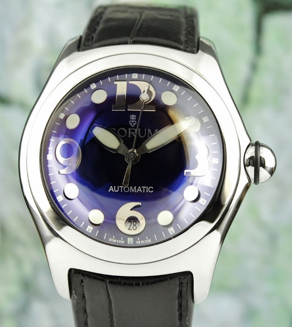 CORUM BUBBLE STAINLESS STEEL AUTOMATIC WATCH