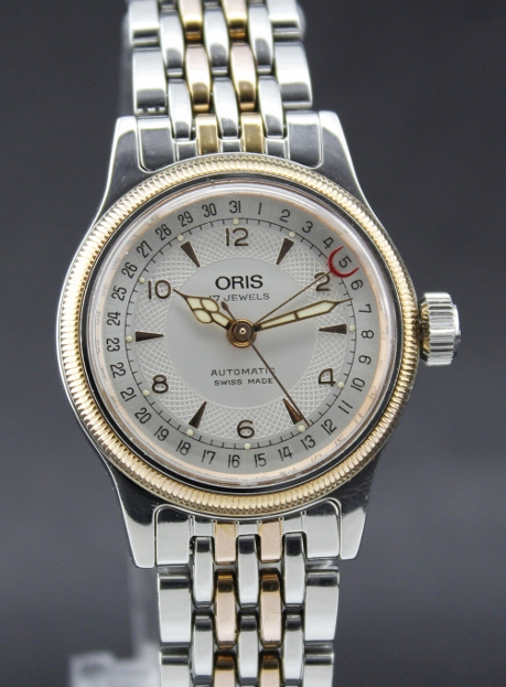 ORIS PINK GOLD LADY SIZE STEEL- AUTOMATIC
