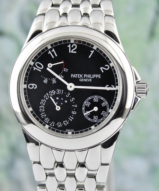 Patek Philippe Stainless Steel Neptune Moon Phase Watch / 5085/1A-001