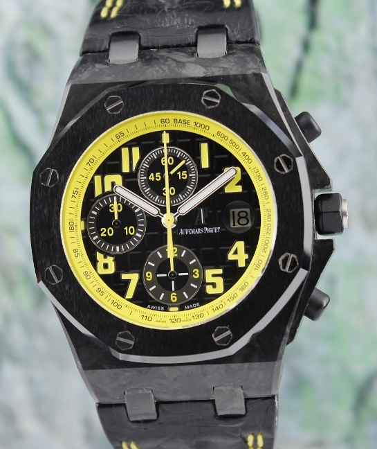 LIKE NEW Audemars Piguet AP Offshore BUMBLE BEE Chronograph / 26176FO.OO.D101CR.02
