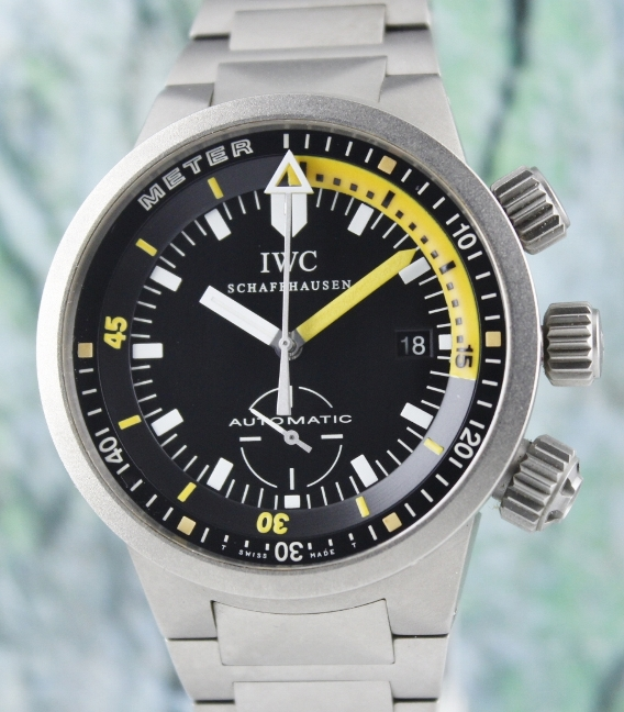 LIKE NEW IWC GST DEEP ONE IN TITANIUM / 3527