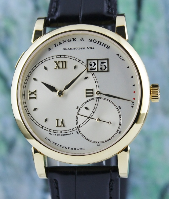 Like New A. Lange & Sohne 18K Yellow Gold Grand Lange 1 / 115.022
