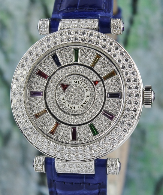 Like New Franck Muller Double Mystery / DM 42 COL DRM D 2R CD