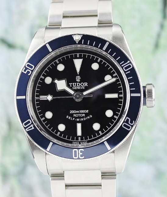 TUDOR STAINLESS STEEL HERITAGE BLACK BAY / 79220B
