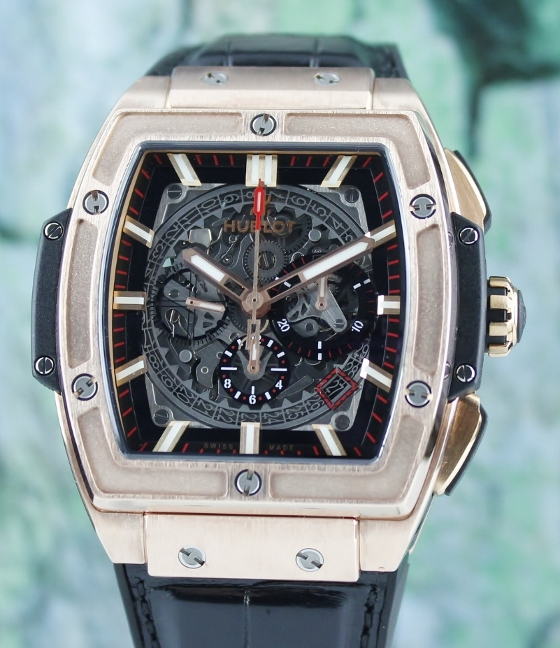 Like New Unpolished Hublot Spirit of Big Bang King Rose Gold / 601.OX.0183.LR