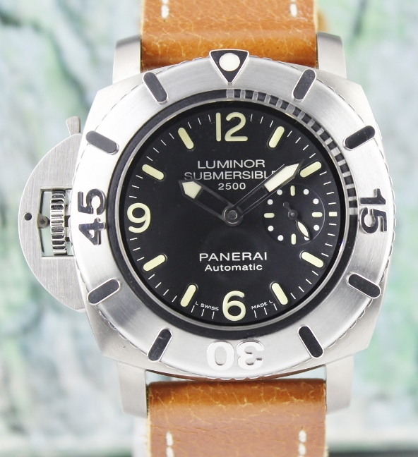 LIKE NEW Unpolished Luminor 1950 Submersible 2500 Destro Limited Edition / PAM 358