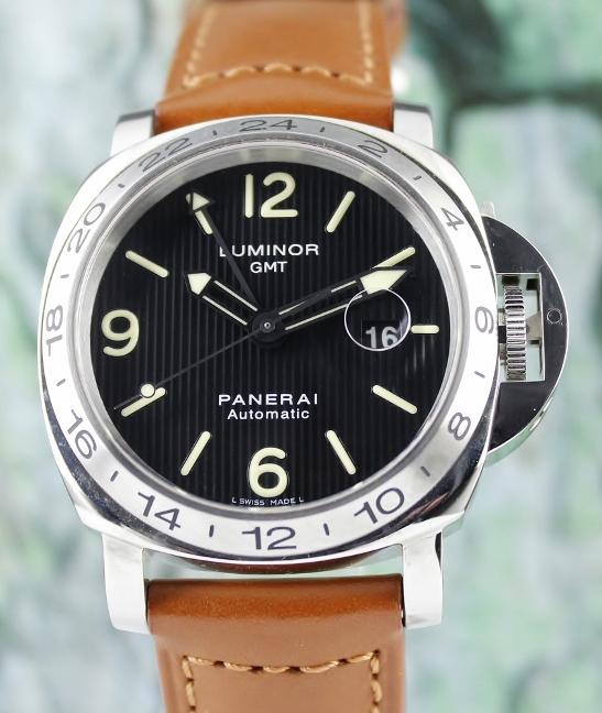 Like New Unpolished Panerai Special Edition 2010 Luminor GMT / PAM 029