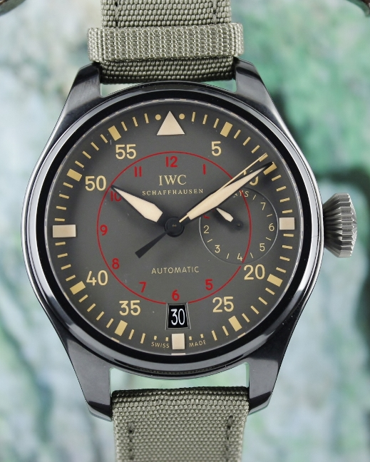 Unworn New IWC Big Pilot Top Gun Miramar Automatic Watch / IW501902
