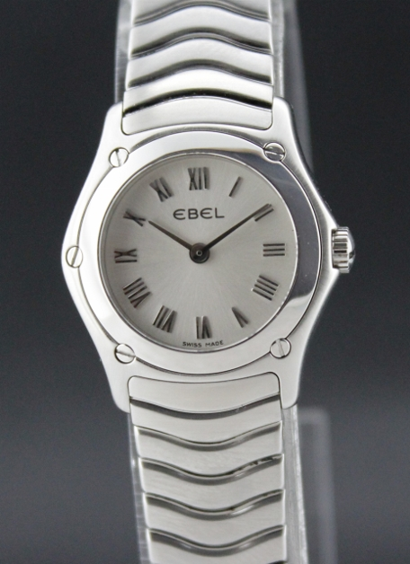 EBEL LADY FULL STAINLESS STEEL CLASSIC WATCH