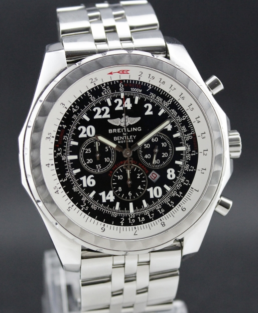 A LIKE NEW LIMITED EDITION BREITLING BENTLEY / COMPLETE