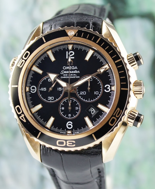 0b5354dca1d OMEGA SEAMASTER PLANET OCEAN 600M CO-AXIAL CHRONOGRAPH 18K ROSEGOLD WATCH    22263465001001