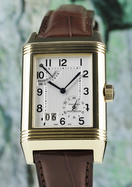 Jaeger LeCoultre Reverso Grande Date With 8 Days Power Reserve / 240.1.15