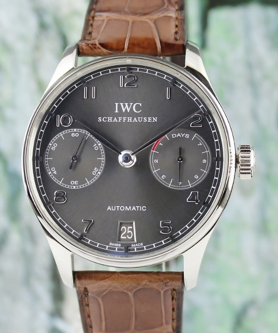 IWC Portuguese 18K White Gold 7 Days Power Reserve / IW500106