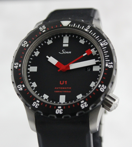 a sinn u1 sdr diver 39 s watch complete sgd 0 hj watch. Black Bedroom Furniture Sets. Home Design Ideas
