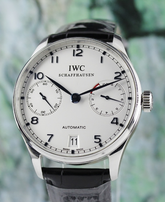 IWC Portuguese 7 Days Power Reserve Automatic Watch / IW500107