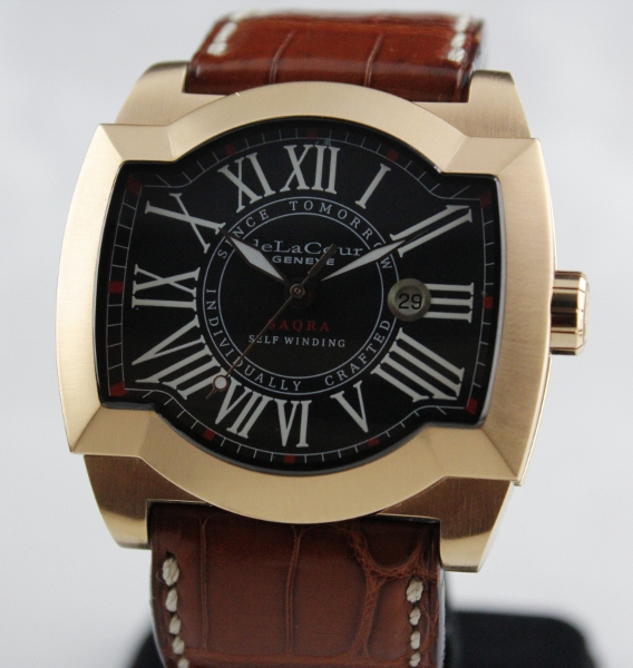 A deLaCour Limited Edition Pink Gold Watch