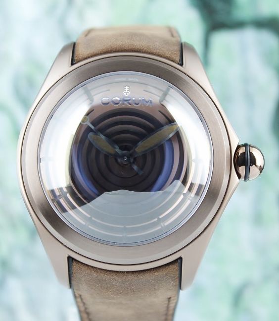 Unworn New Corum Bubble Op Art Limited Edition 350 Pieces / 082.311.98/ 0062 OP01 S