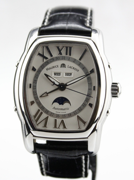 MAURICE LACRIOX TRIPLE CALENDAR WATCH / LIKE NEW