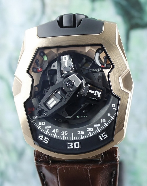 URWERK 18K ROSE GOLD UR-210 LIMITED EDITION 75 PIECES