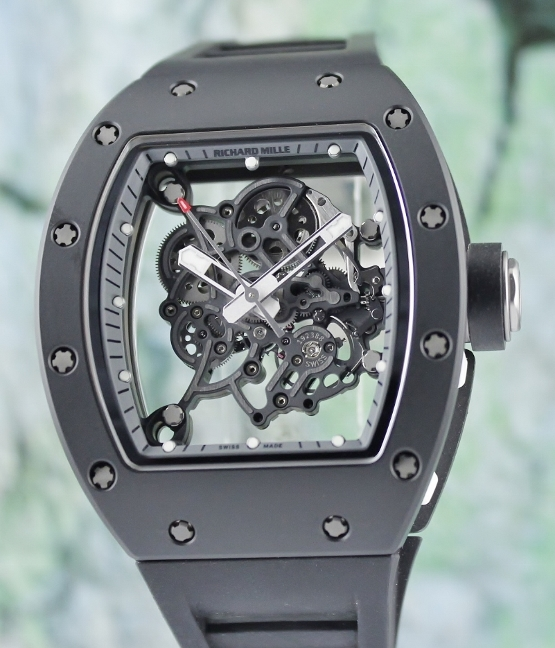 UNWORN RICHARD MILLE RM 055 BUBBA WATSON ASIA LIMITED 50 PIECES / RM55 TI_TZP