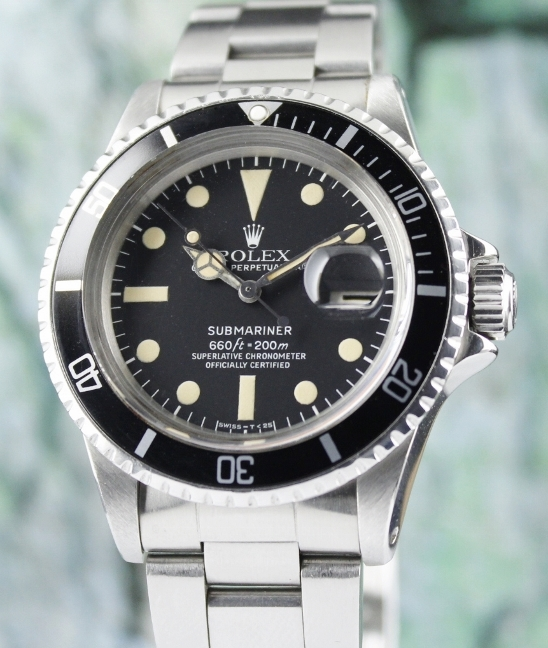 ROLEX VINTAGE SUBMARINER OYSTER PERPETUAL / 1680