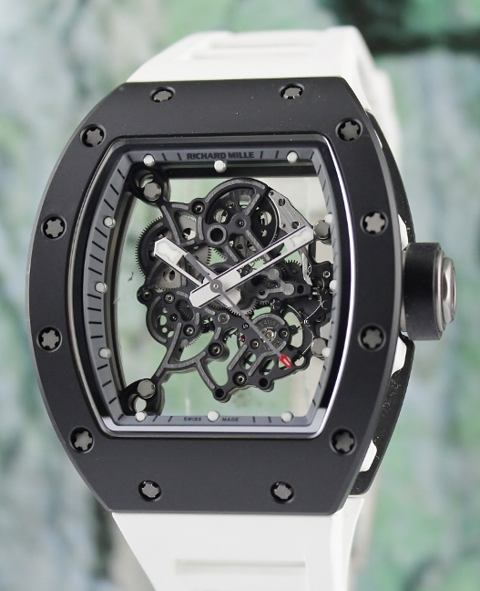 LIKE NEW RICHARD MILLE RM 055 BUBBA WATSON ASIA LIMITED 50 PIECES / RM55 TI_TZP