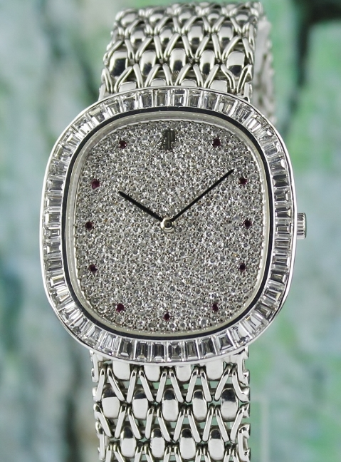 Audemars Piguet 100% Original 18K White Gold Manual Winding Watch