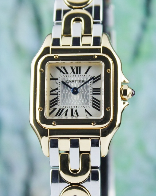 A CARTIER LADY SIZE 18K YELLOW GOLD PANTHERE LIMITED EDITION 1847 PIECES