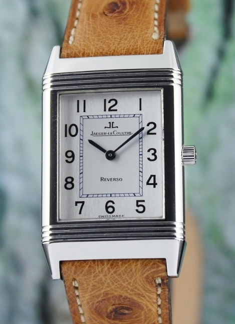 Jaeger-LeCoultre Mid Size Manual Winding Reverso Watch / 250.8.86