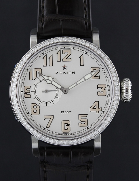 Zenith Pilot Montre d Aeronef Zenith Type 20 Automatic Watch / 16.1930.681-31.C725