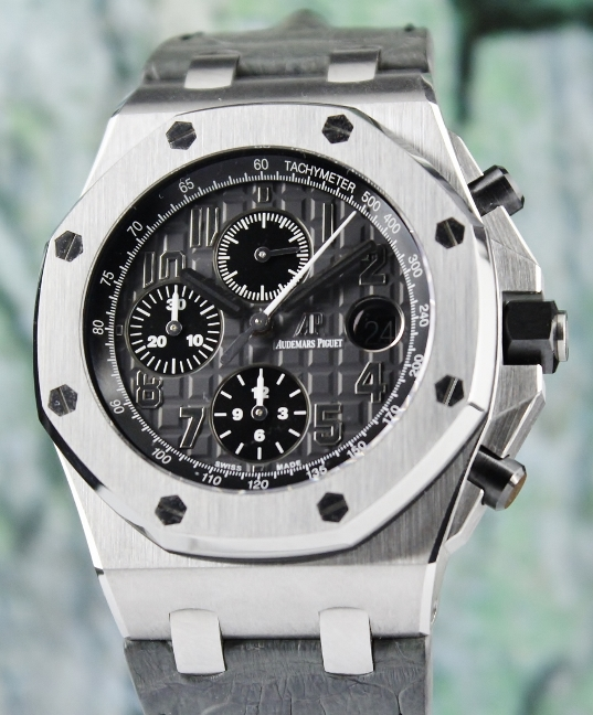 Like New Audemars Piguet Royal Oak Offshore Chronograph Watch / 26470ST.OO.A104CR.01