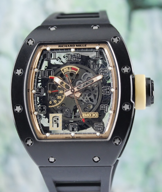 RICHARD MILLE RM 030 POWER RESERVE DLC CARBON BOUTIQUE EDITION