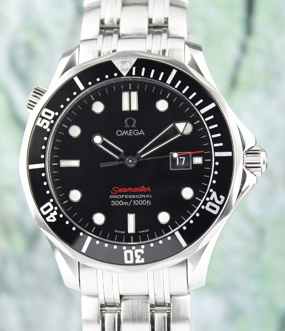 Omega Seamaster 300 M Quartz Stainless Steel 41mm Watch / 212.30.41.61.01.001
