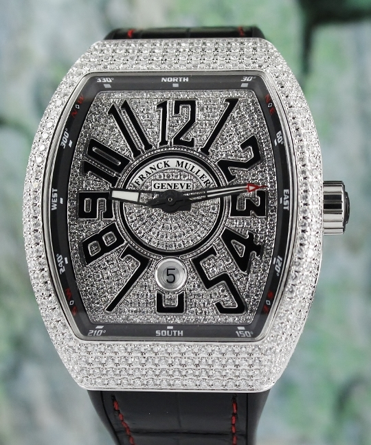 UNWORN NEW FRANCK MULLER VANGUARD COLLECTION / V 45 SC DT