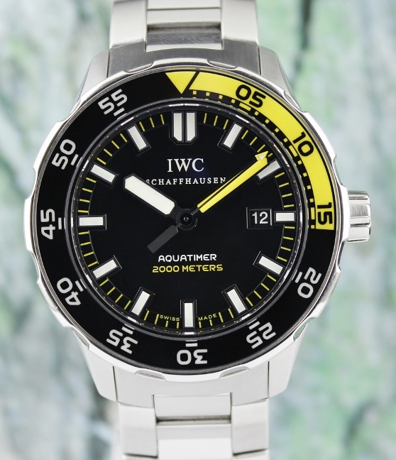 IWC Stainless Steel Aquatimer Automatic 2000 Watch / IW356801