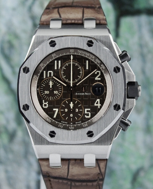 Like New Unpolished Audemars Piguet Royal Oak Offshore Chronograph Watch / 26470ST.OO.A820CR.01