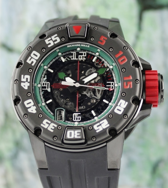 "UNWORN RICHARD MILLE DIVER ""PROTOTYPE"" MEXICO / RM28"