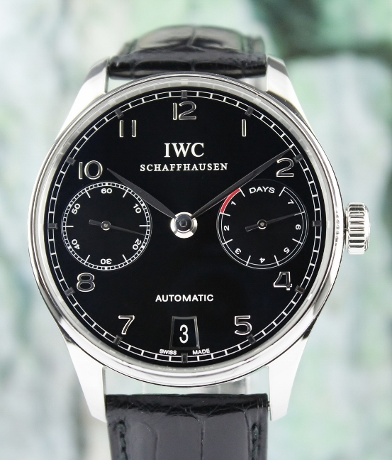IWC Portuguese 7 Days Power Reserve Automatic Watch / IW500109