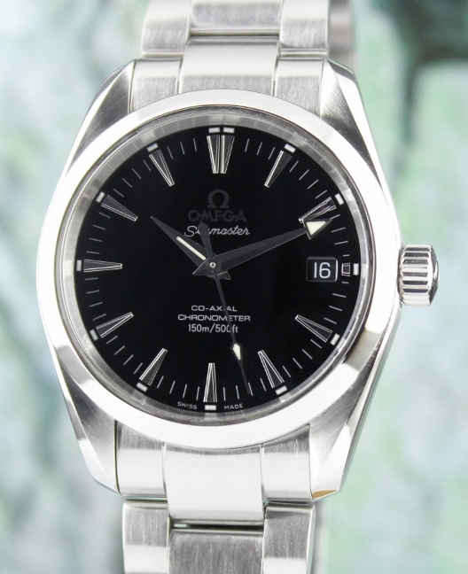 OMEGA STAINLESS STEEL AQUA TERRA CO-AXIAL WATCH / 2504000