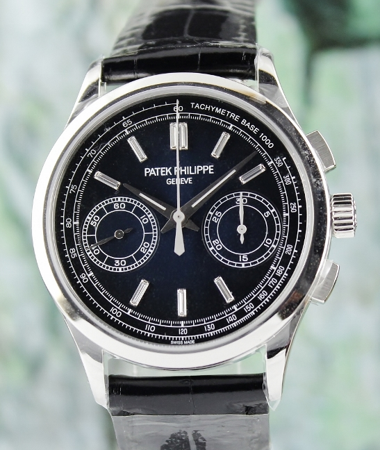 Unworn Patek Philippe Platinium Chronograph / 5170P-001 - Click Image to Close