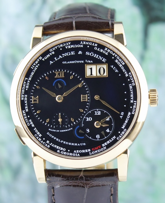 A. Lange & Sohne Lange 1 18K Pink Gold Time Zone Limited Edition / 116.031