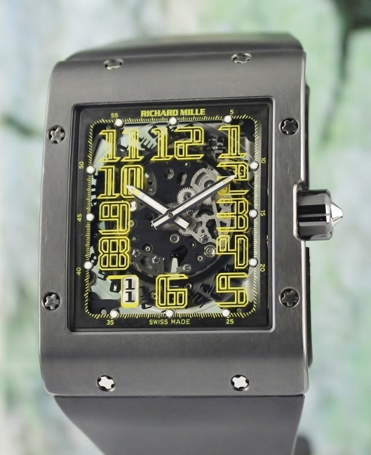Richard Mille RM-016 Ultra Thin Skeleton Dial Automatic Watch