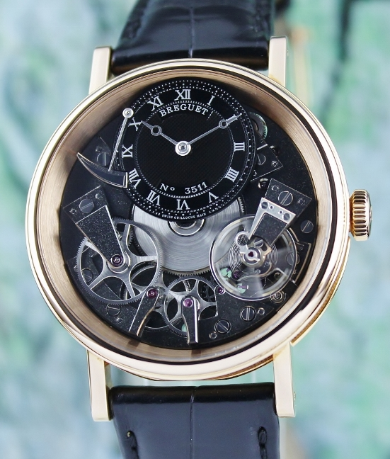 "BREGUET ""LA TRADITION"" 18K ROSE GOLD SKELETON - 7057BR"