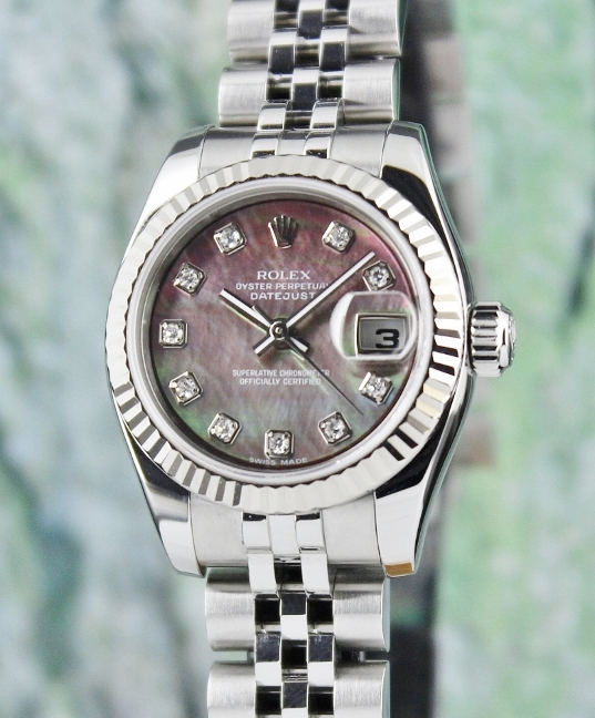 ROLEX LADY SIZE OYSTER PERPETUAL DATEJUST - MOP/ 179174
