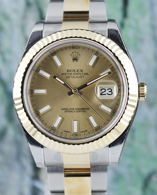 UNWORN ROLEX STAINLESS STEEL DATEJUST II OYSTER PERPETUAL - 116333