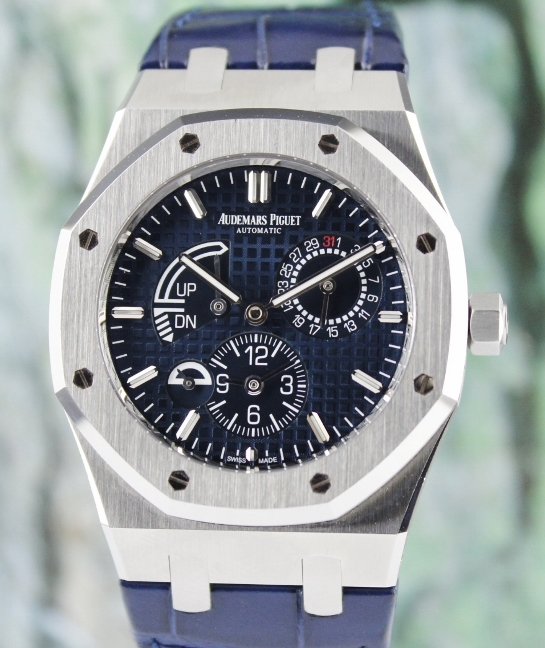 Audemars Piguet Stainless Steel Royal Oak Dual Time / 26124ST.OO.D018CR.01