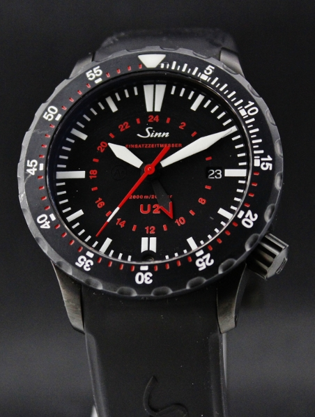 Sinn U2 Black EZM 5 on Strap/ Complete