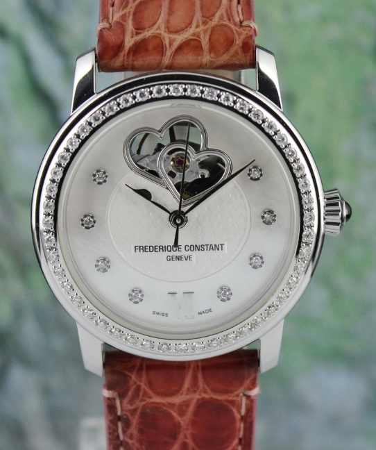 FREDERIQUE CONSTANT LADY SIZE STAINLESS STEEL AUTOMATIC WATCH