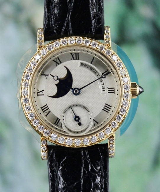 Breguet Lady Size 18K Yellow Gold Manual Winding Watch / 8211